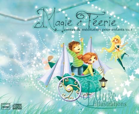 magie et féérie - illustration de pochette CD