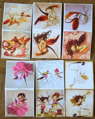 vue d'ensemble des cartes de fées