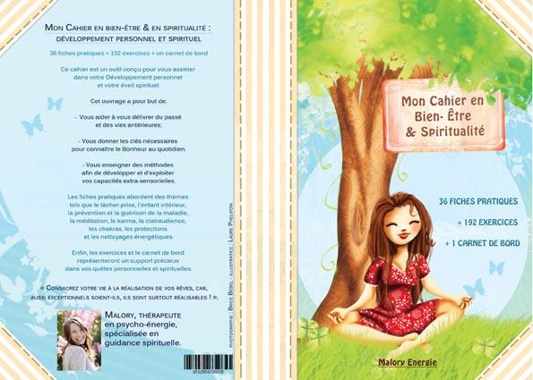 mon cahier en bien-être et spiritualité