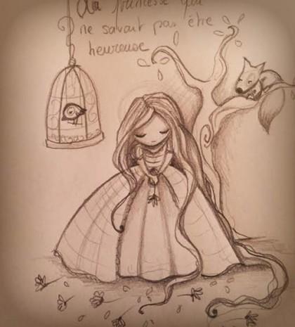 la princesse qui ne savait pas être heureuse