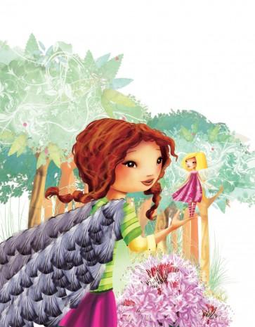 couverture Roman jeunesse : Kimberly au pays des fées