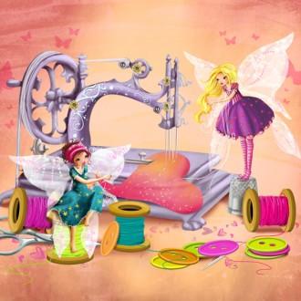 couture illustration pour motif personnel