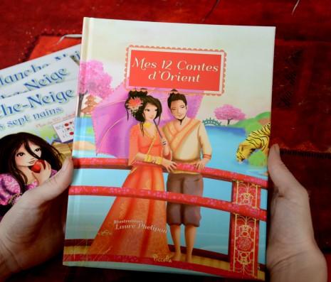 L'album mes 12 contes d'Orient de Laure Phelipon