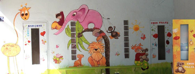 Fresque Murale Enfants Animaux Et Nature Pictures to pin on Pinterest