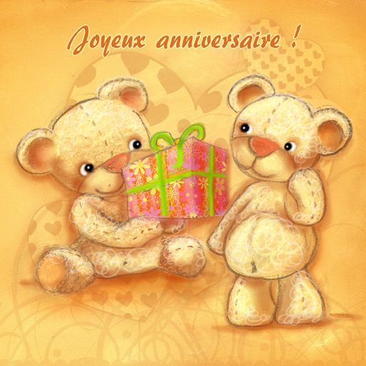 des cartes anniversaire et faire part ptit blog d 39 une illustratrice jeunesse. Black Bedroom Furniture Sets. Home Design Ideas