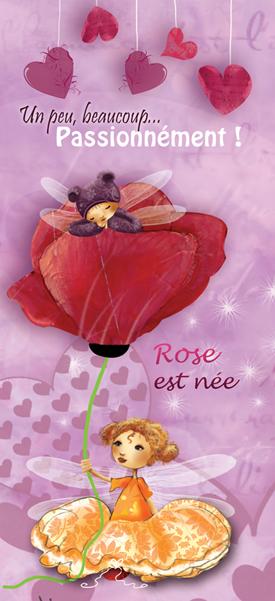 faire part de naissance pour une petite rose ptit blog d. Black Bedroom Furniture Sets. Home Design Ideas