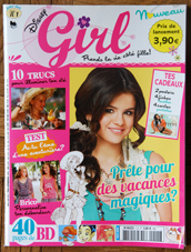 couverture du magasine disney