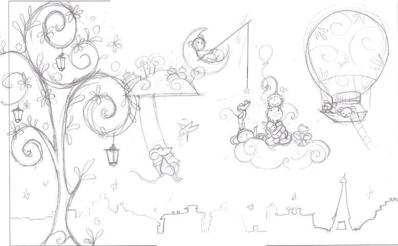 Fresque Doudous Dans La Chambre De B B Ptit Blog D 39 Une Illustratrice Jeunesse
