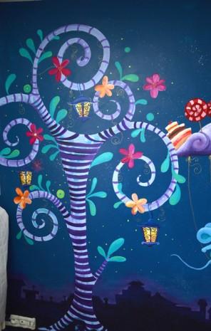 Fresque F Rique Pour Une Chambre D 39 Enfant Ptit Blog D 39 Une Illustratrice Jeunesse