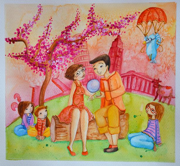 commande de peinture pour une demande en mariage