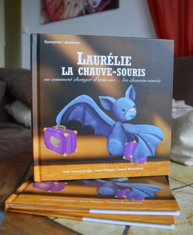 Laurélie, la chauve-souris