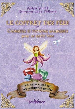 Le coffret des fées par Valérie Motté, dans lequel j'ai réalisé les illustrations vient de sortir aux éditions Jouvence.
