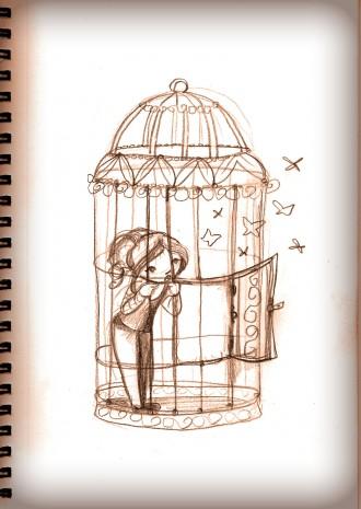 sortir de sa cage et se sentir pousser des ailes