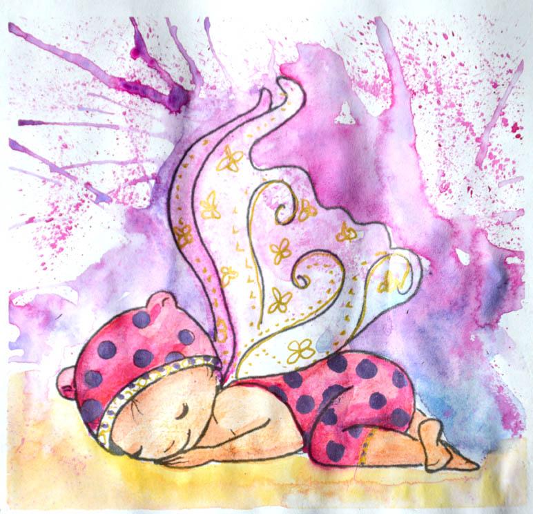 Des illustrations pour des tampons de mariage et naissance