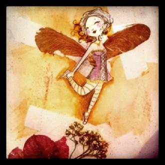 illustrations des fées dans la nature