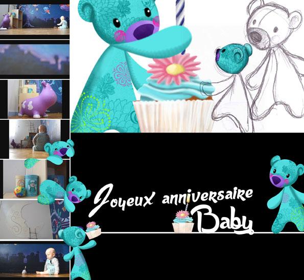 Un an déjà que nous sommes parents, joyeux anniversaire Titouan