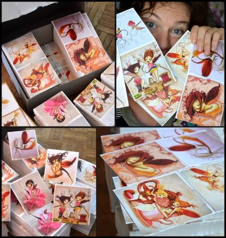arrivage de cartes de fées