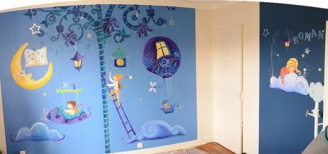 La chambre de garçon par Laure Phelipon