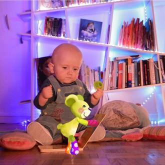Petit film d'animation Quelques jouets pour bébé