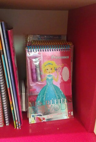 mes princesses en librairie