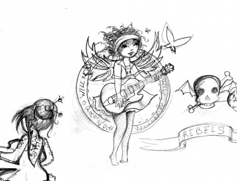 un croquis rock'n'roll