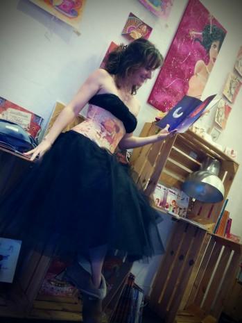 Laure Phelipon habillé par la fée corsetée