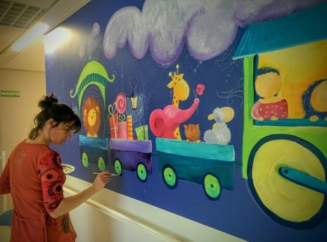 fresque du train des rêves
