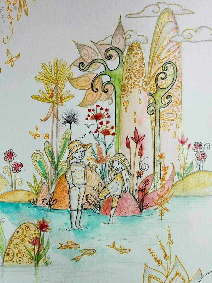 Mon éveil spirituel à travers mes illustrations