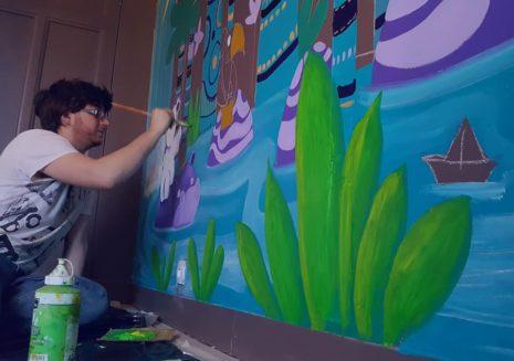 Fresque murales enfants