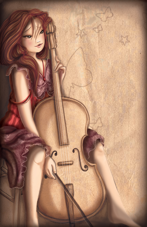 En décidant de prendre des leçons de violoncelle afin de parfaire son jeu - défi 3