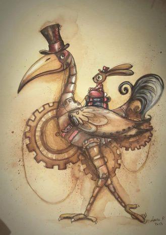 mon oiseau mécanique