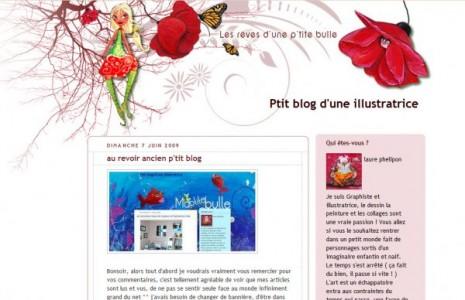 Nouveau blog d'une illustratrice