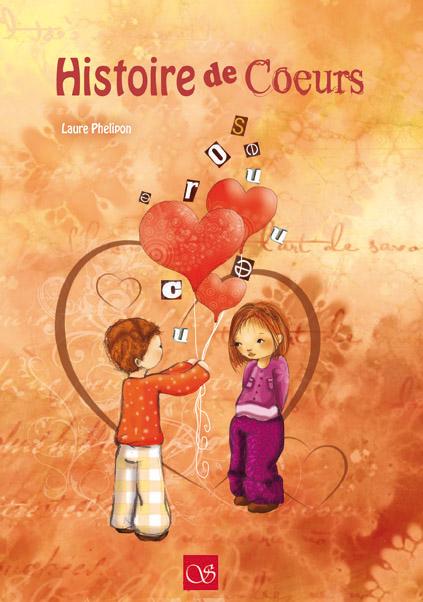 Histoire de coeurs - illustration jeunesse - couverture