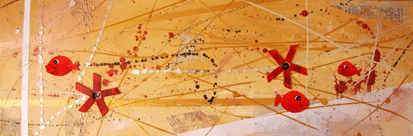Commande de peinture abstraite