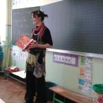 intervention d'une illustratrice en classe de CP