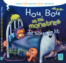 couverture de l'album jeunesse des monstres sous le lit