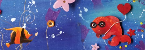 bandeau de Célestin, petit poisson rouge