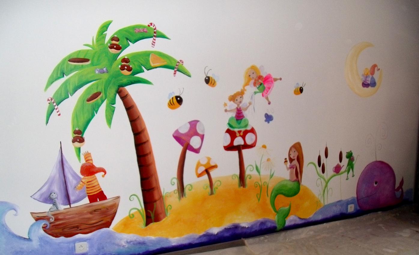 Nouveau Une fresque dans une salle de jeux d'enfants - Ptit blog d'une  TR28