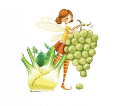 fée des fruits et legumes d'octobre