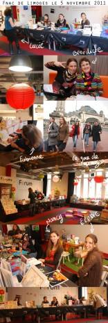 dédicace fnac de Limoges
