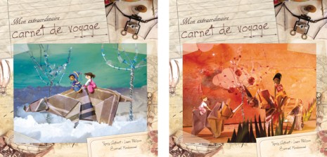 couverture carnet de voyage photos, illustrations et croquis