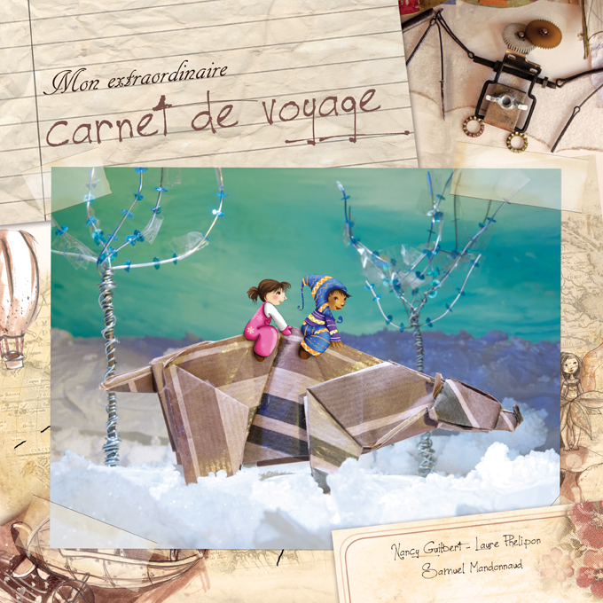 Carnet de voyage : essais de couverture