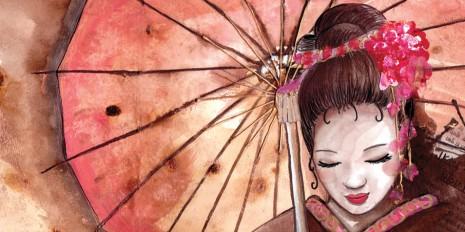 Carnet de croquis : portrait de femme chinoise