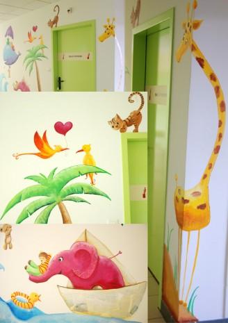 fresque pour les enfants du sillon