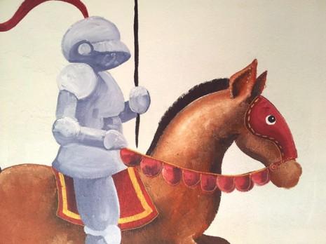détail du chevalier