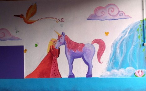 princesse et licorne