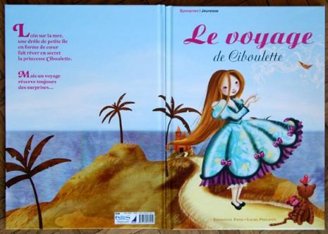 couverture du livre le voyage de ciboulette