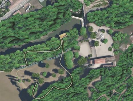 cartographie du parc
