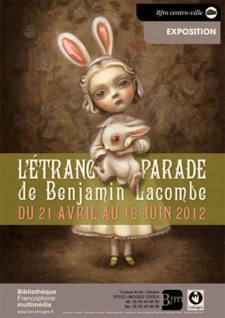 l'étrange parade de benjamin Lacombe