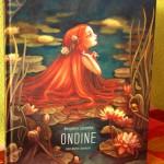 couverture du livre Ondine de benjamin lacombe